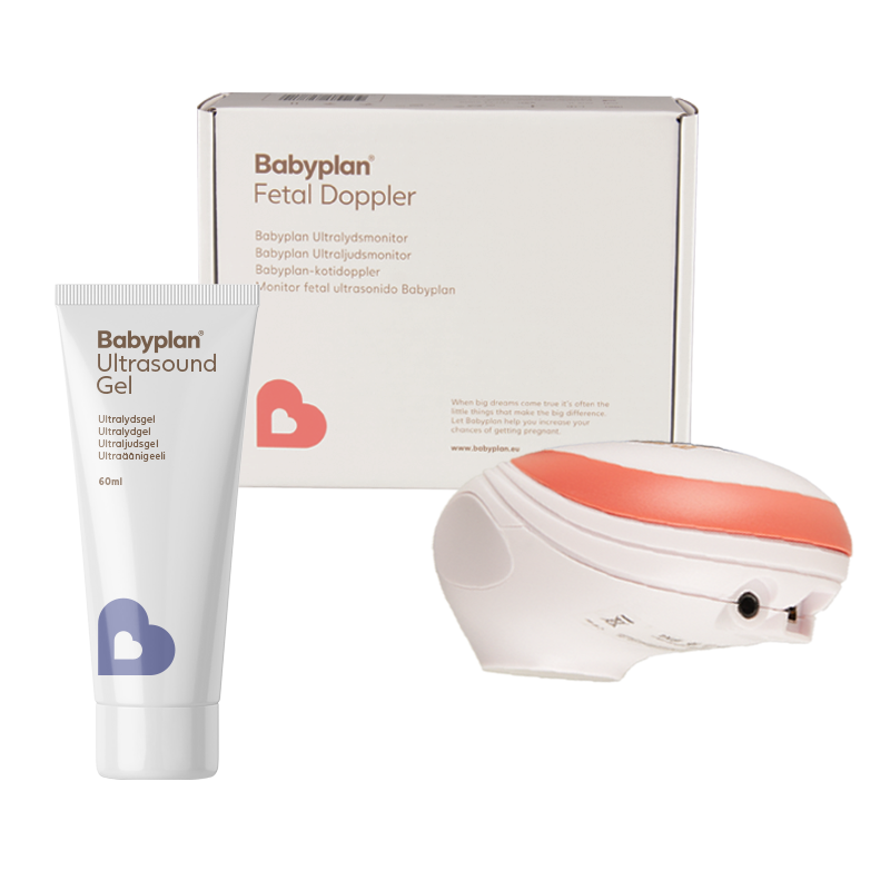 Babyplan Ultralydsmonitor og ultralysgel