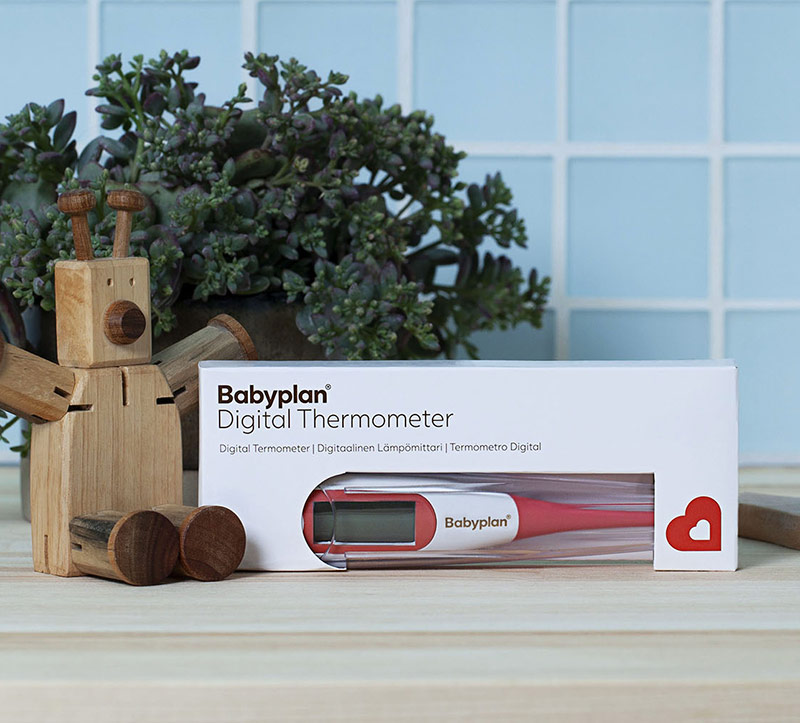 Babyplan termometer